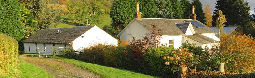 Shegarton Farm Holiday Cottages near Loch Lomond